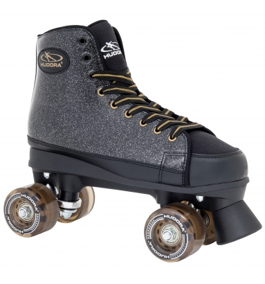 Купить Ролики-квады Hudora Roller Skates Black Glamour, 36
