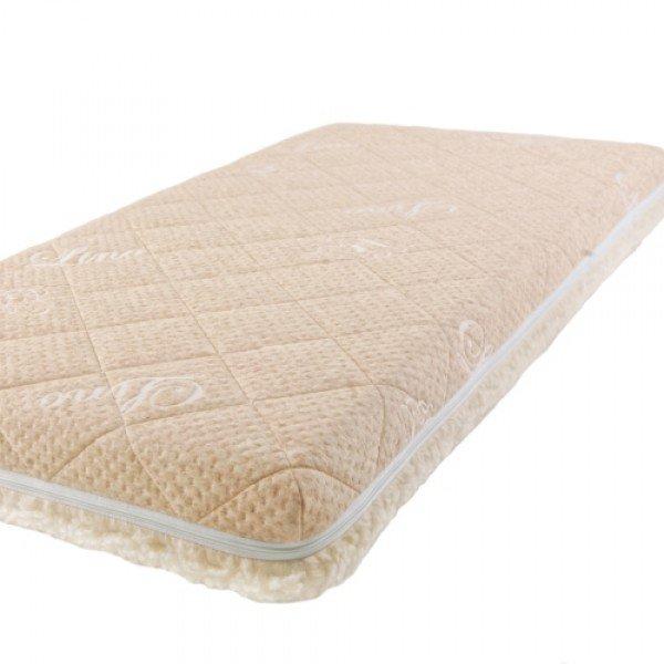 Купить Детский матрас класса Люкс BabySleep BioLatex Cotton, размер 120 х 60 см.