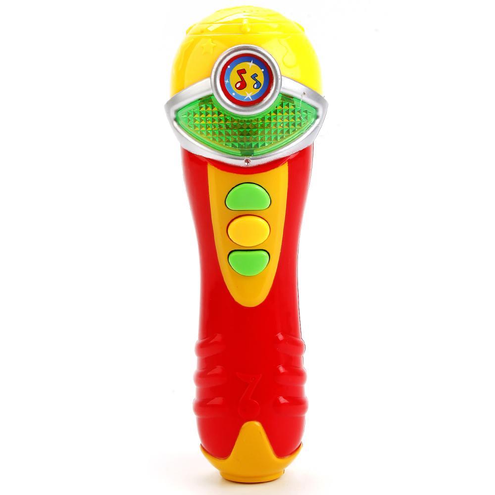 Купить Микрофон с песнями В. Шаинского, свет, звуковые эффекты, 3 песни, Умка