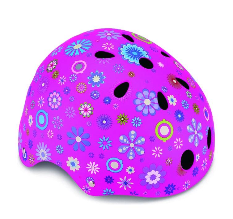 Купить Шлем Globber - Printed Junior XS/S, 51-54 см, розовый