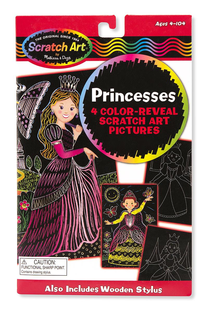 Набор для рисования «Scratch art. Принцессы»с различными эффектами<br>Набор для рисования «Scratch art. Принцессы»<br>