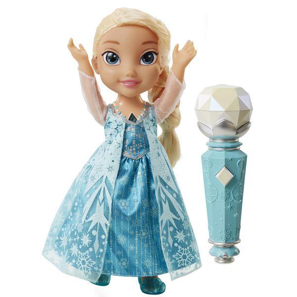 Кукла Эльза Холодное Сердце Принцессы Дисней, поющая с микрофономКуклы холодное сердце<br>Кукла Эльза Холодное Сердце Принцессы Дисней, поющая с микрофоном<br>