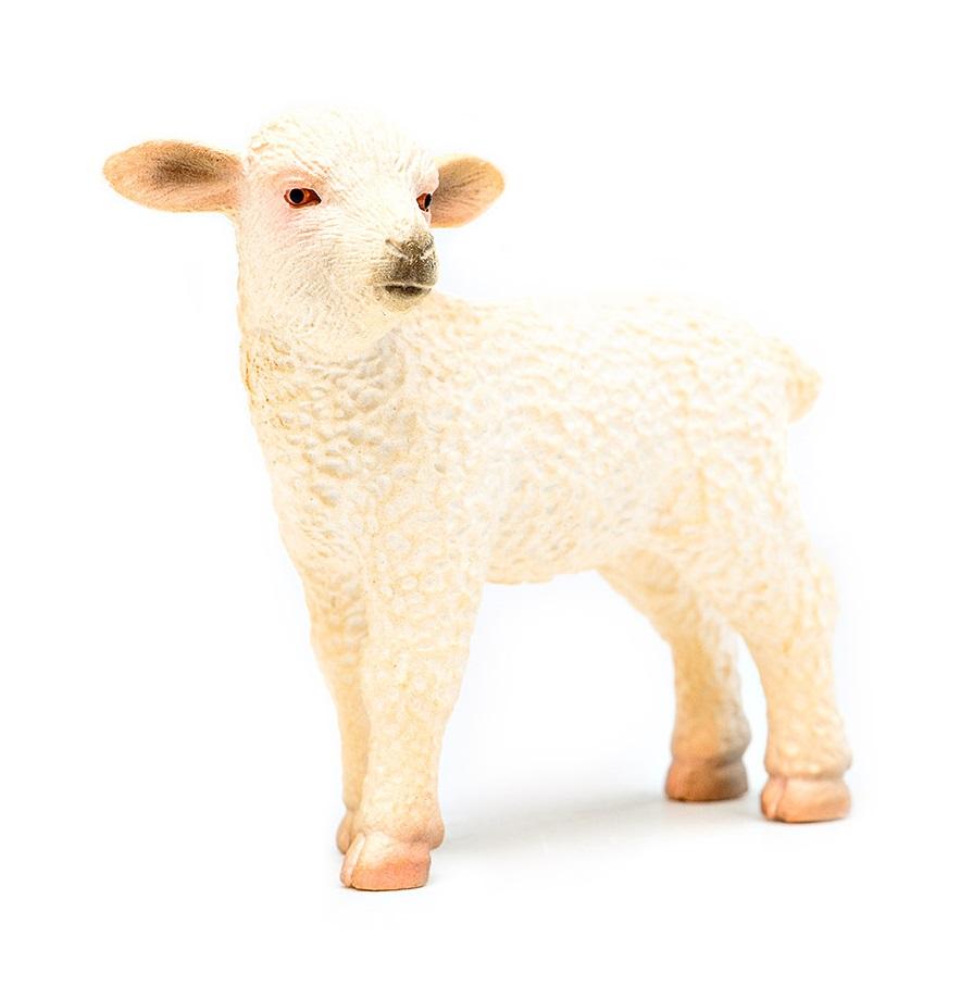 Фигурка – Овечка, размер 6 х 2 х 4,5см.На ферме (Farm life)<br>Фигурка – Овечка, размер 6 х 2 х 4,5см.<br>