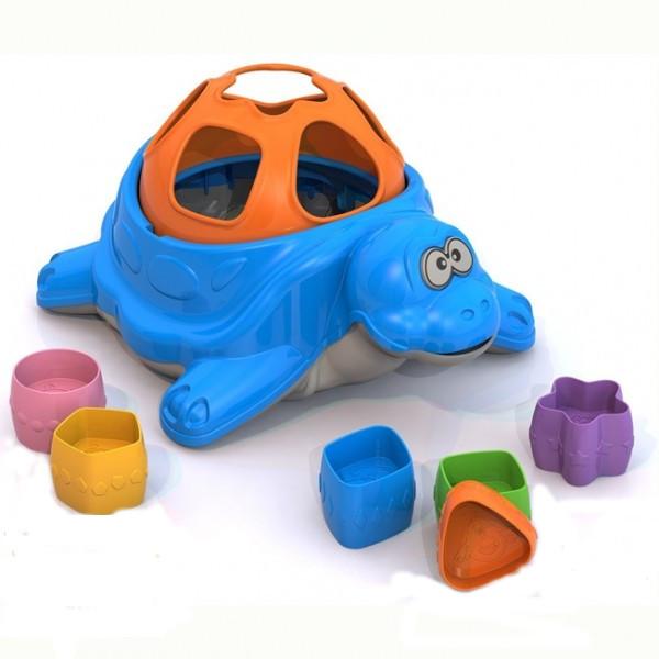 Купить Дидактическая игрушка-сортер - Черепаха, Нордпласт
