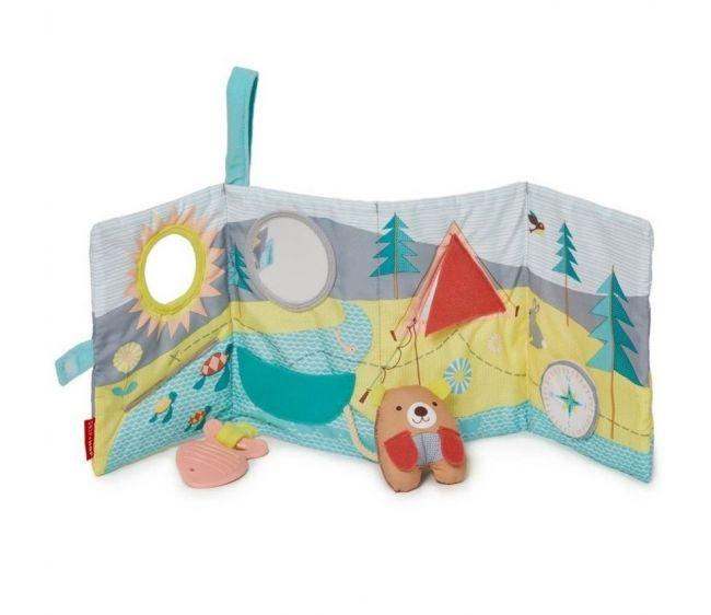 Развивающая игрушка-книжкаМягкие развивающие книжки<br>Развивающая игрушка-книжка<br>