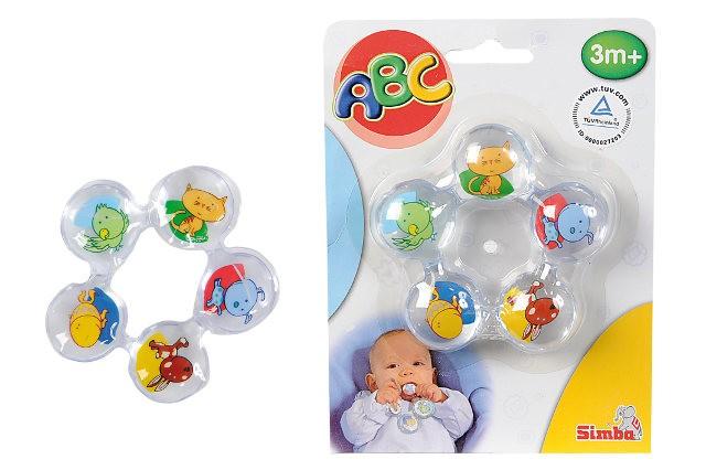 Прорезыватель для зубиковДетские погремушки и подвесные игрушки на кроватку<br>Прорезыватель для зубиков<br>