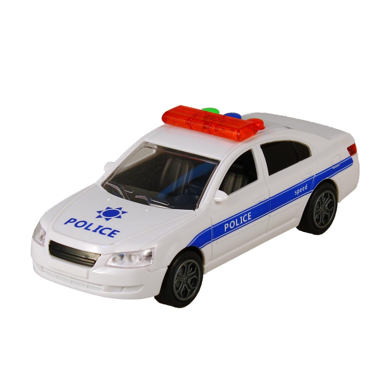 Купить Машинка – Полиция со звуковыми и световыми эффектами, JUNFA TOYS