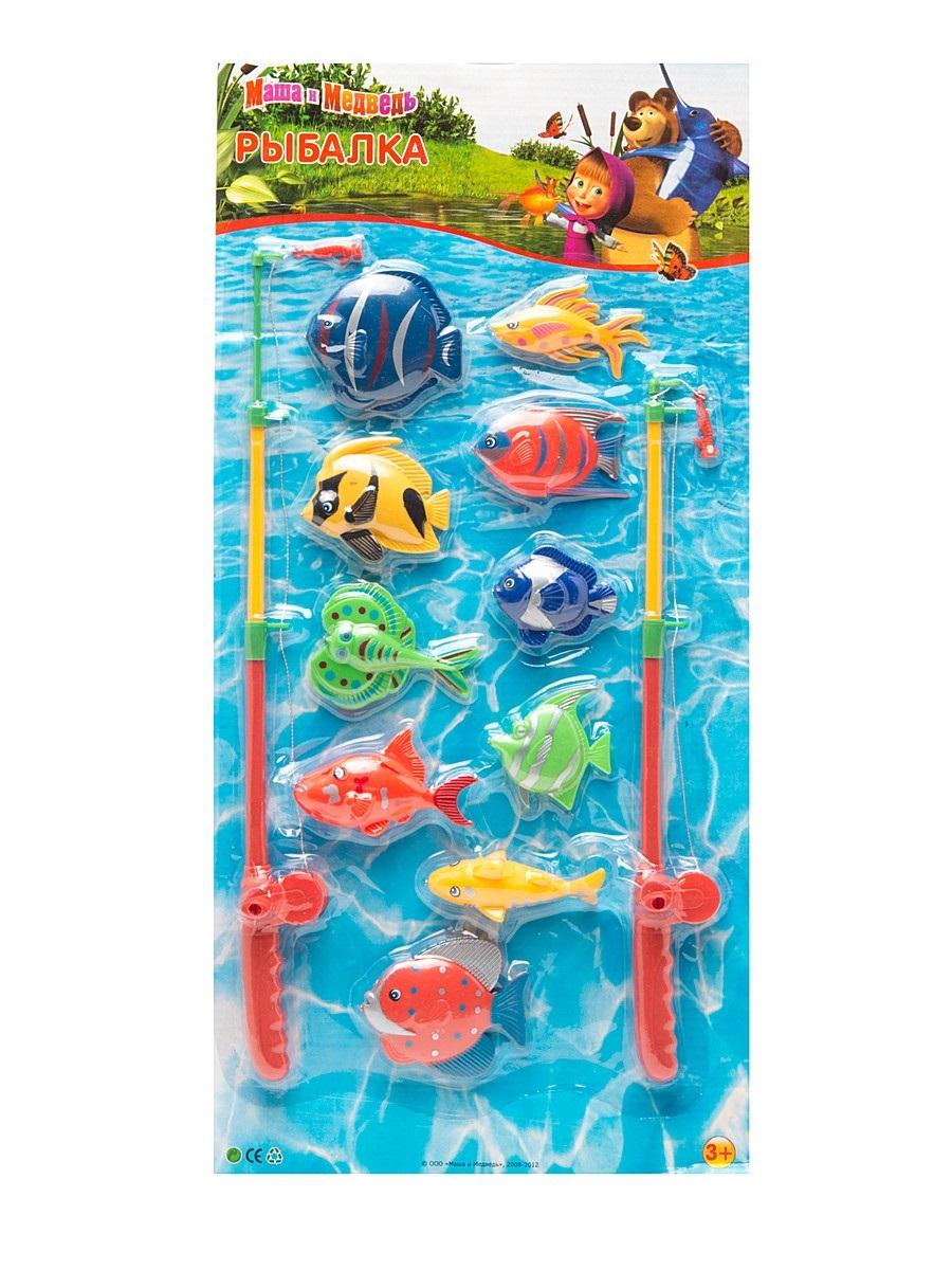 Игровой набор – Рыбалка «Маша и медведь»Игрушки для ванной<br>Игровой набор – Рыбалка «Маша и медведь»<br>