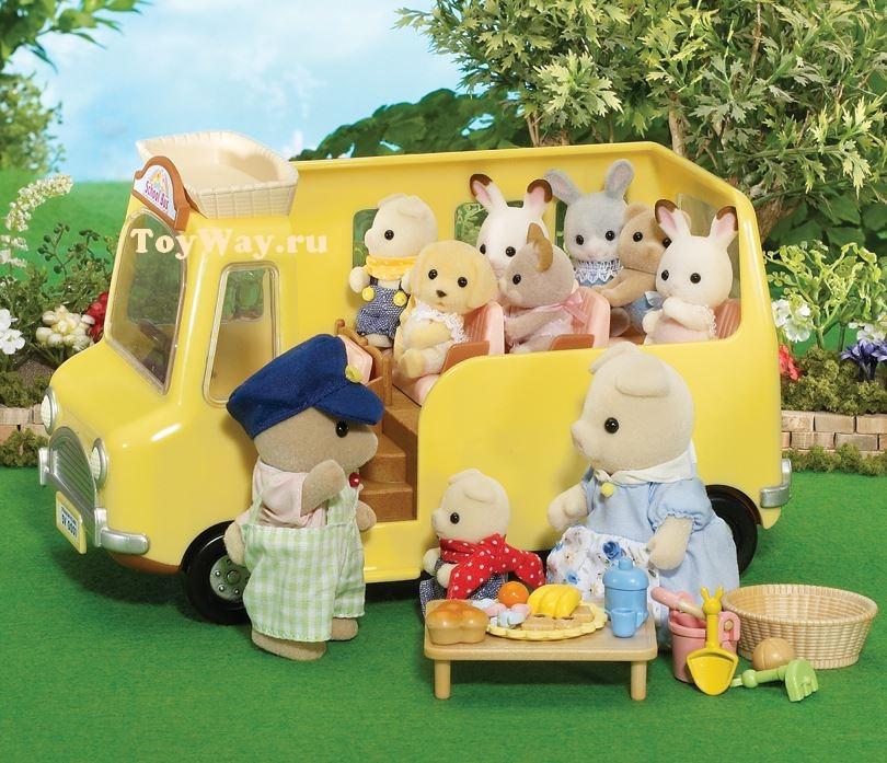 Sylvanian Families - Автобус для малышейДетский сад и Школа<br>Sylvanian Families - Автобус для малышей<br>