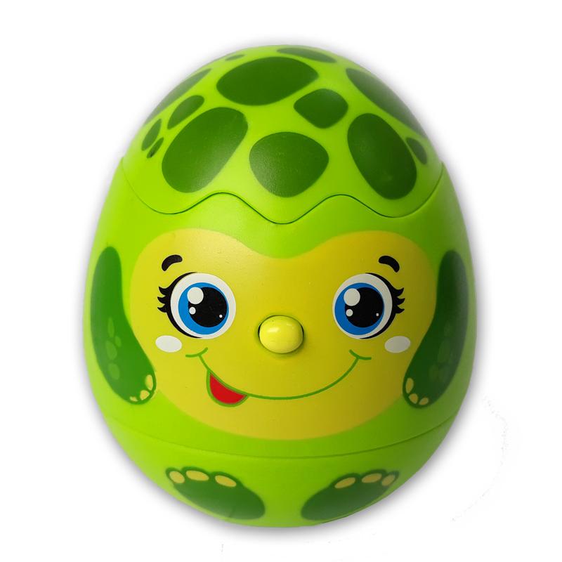 Купить Игрушка музыкальная Черепашка - Яйцо-сюрприз, Азбукварик
