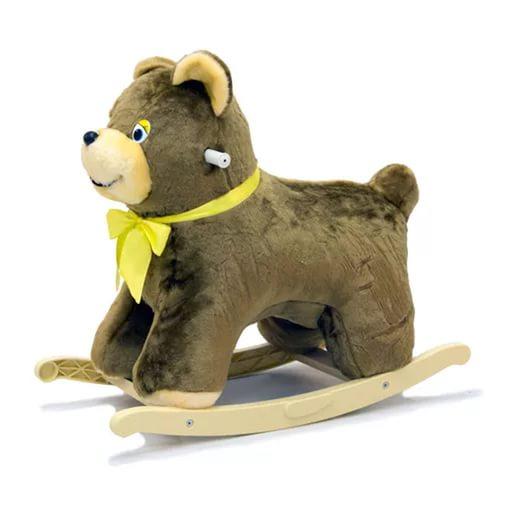 Меховая качалка. МедведьДетские кресла-качалки<br>Меховая качалка. Медведь<br>