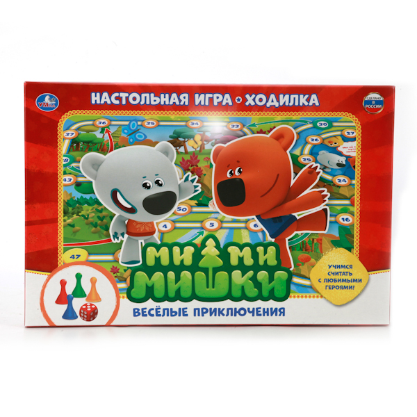 Купить Настольная игра-ходилка Ми-Ми-Мишки. Веселые приключения, Умка