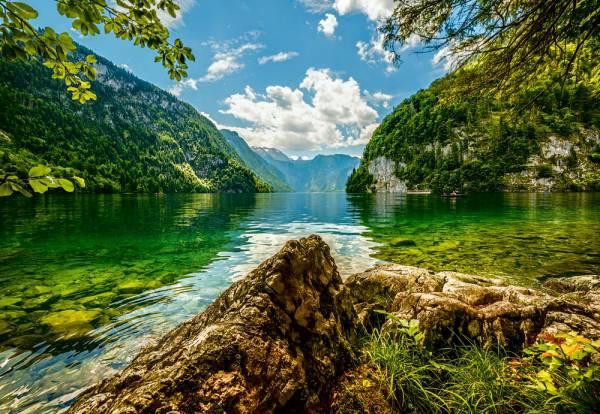 Пазл Castorland 1500 деталей, Озеро в ГерманииПазлы<br>Пазл Castorland 1500 деталей, Озеро в Германии<br>