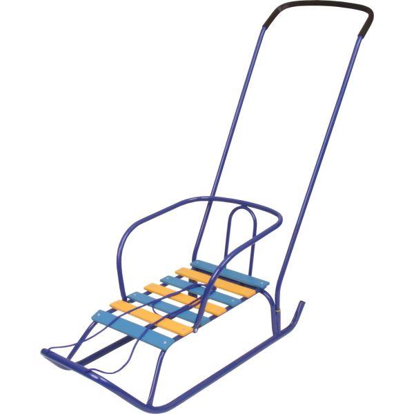 Детские санки - Ветерок 2, синиеСанки и сани-коляски<br>Детские санки - Ветерок 2, синие<br>