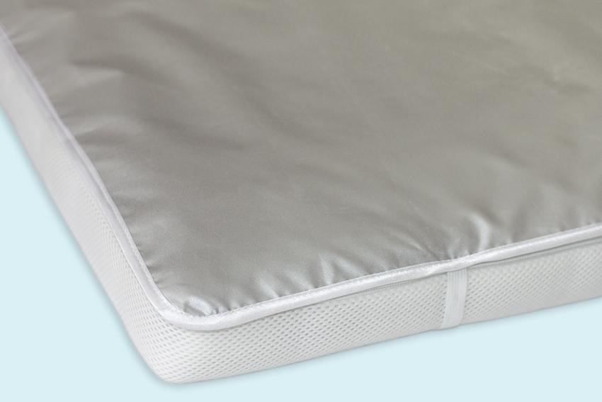 Однослойная непромокаемая пеленка на резинкеДетское постельное белье<br>Однослойная непромокаемая пеленка на резинке<br>