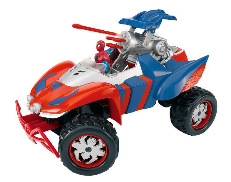 Радиоуправляемое авто - Человек-Паук, стреляющий ракетамиSpider-Man (Игрушки Человек Паук)<br>Радиоуправляемое авто - Человек-Паук, стреляющий ракетами<br>