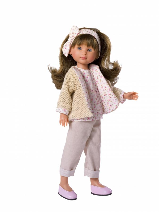 Кукла Селия в белых штанишках, 30 смКуклы ASI (Испания)<br>Кукла Селия в белых штанишках, 30 см<br>