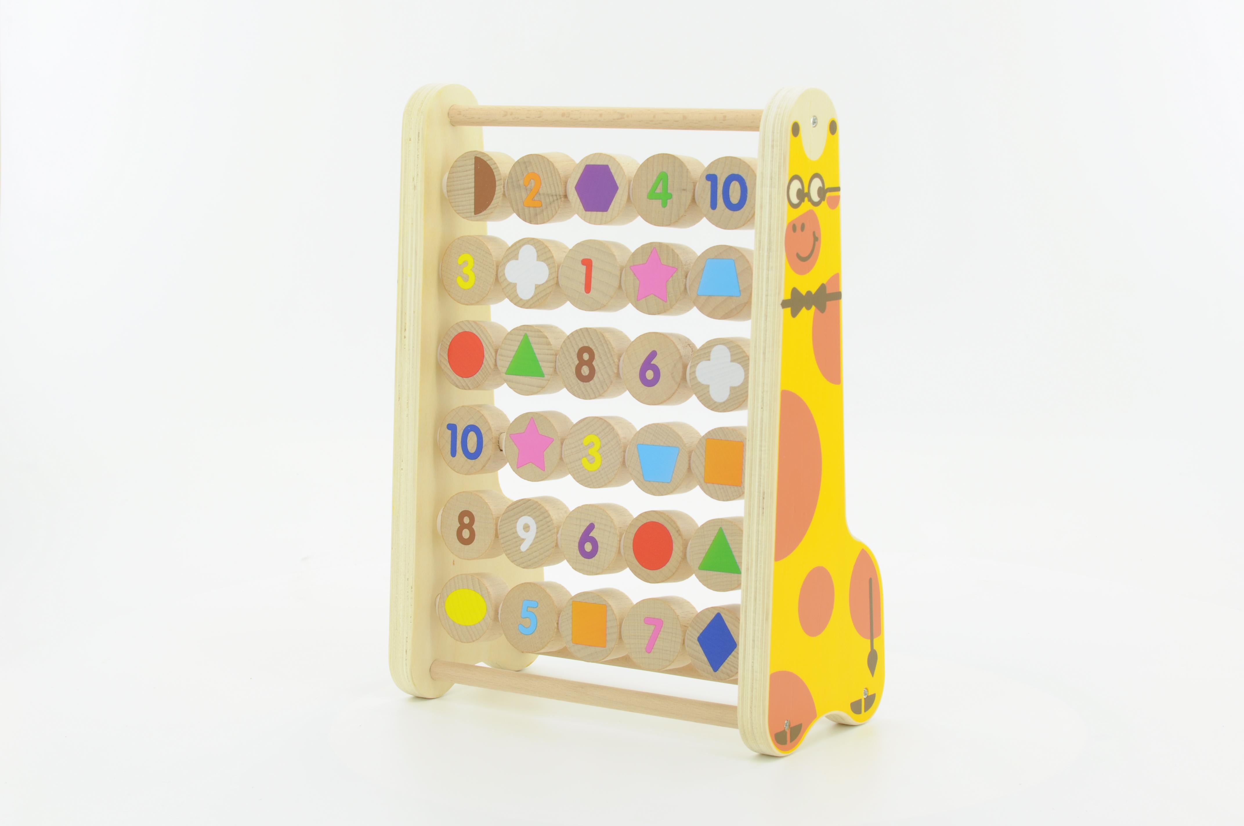 Мир деревянных игрушек Деревянная игрушка - Счеты