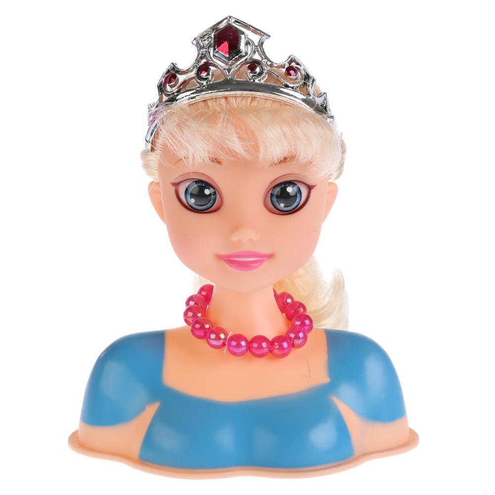 Купить Кукла-манекен для создания причесок с аксессуарами B369