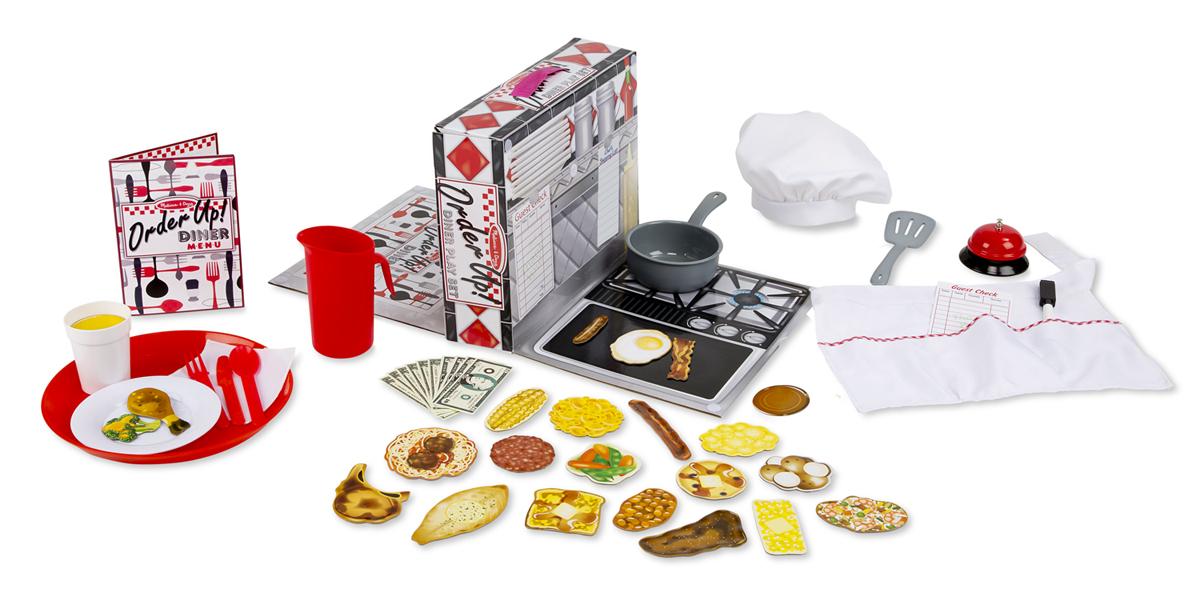 Игровой набор - Сделай заказАксессуары и техника для детской кухни<br>Игровой набор - Сделай заказ<br>