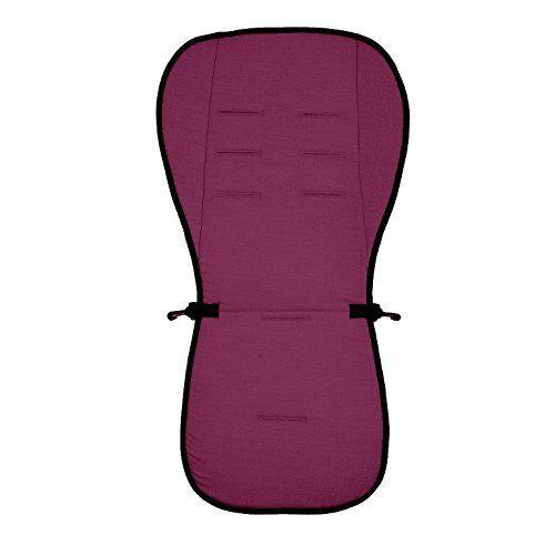 Матрасик вкладыш из ткани Lifeline Polyester с покрытием 3D Mesh, размер 83 x 42 см., цвет бордовый, Altabebe  - купить со скидкой