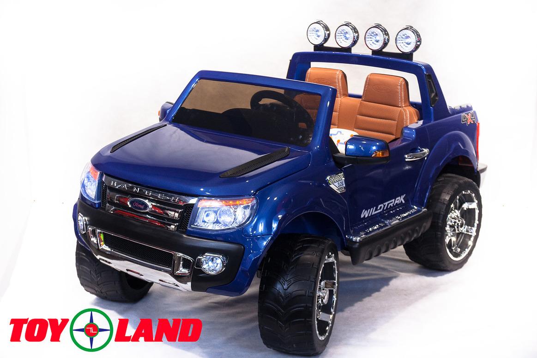Электромобиль - Ford Ranger 2016 New, синийЭлектромобили, детские машины на аккумуляторе<br>Электромобиль - Ford Ranger 2016 New, синий<br>