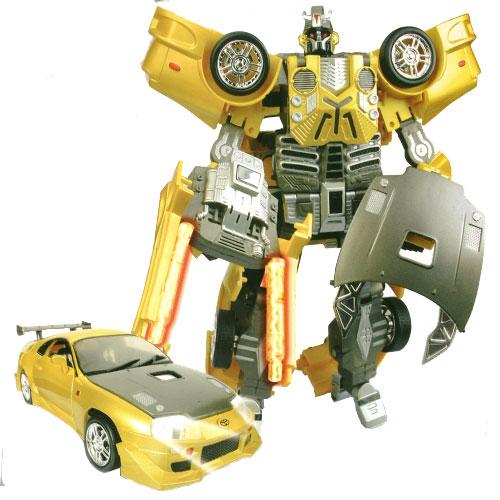 Машинка-трансформер Toyota SupraИгрушки трансформеры<br>Машинка-трансформер Toyota Supra<br>