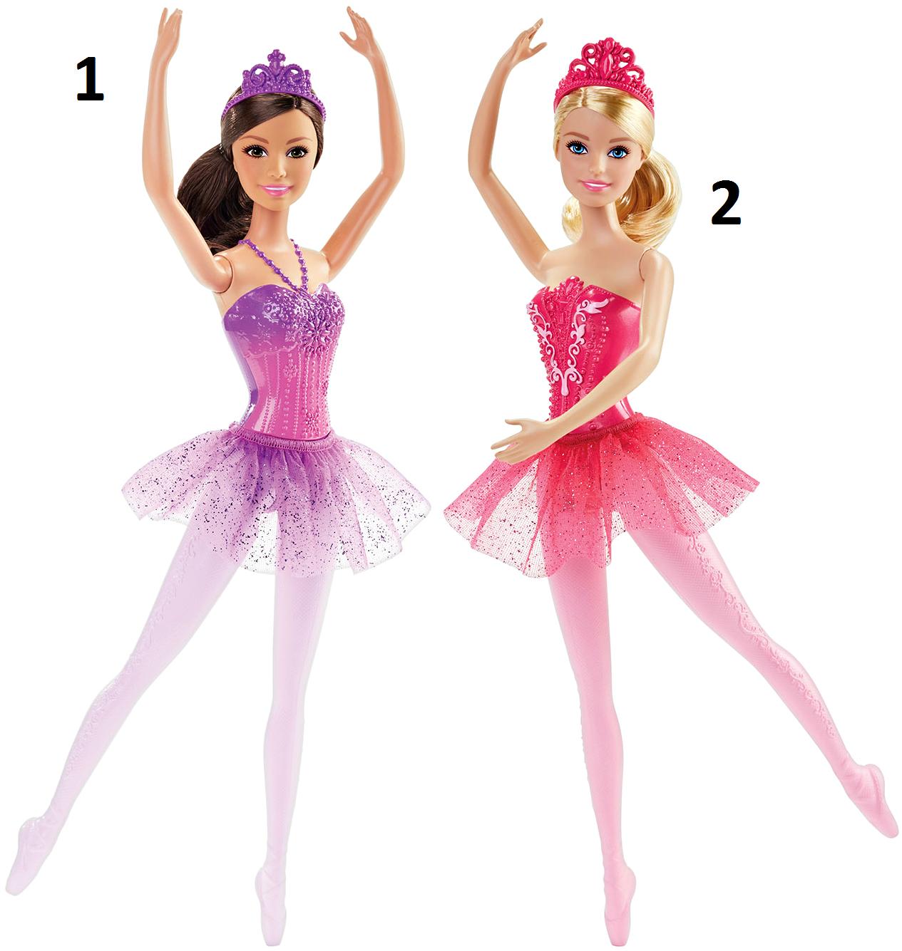 Кукла Barbie® Балерина, 2 видаКуклы Barbie (Барби)<br>Кукла Barbie® Балерина, 2 вида<br>