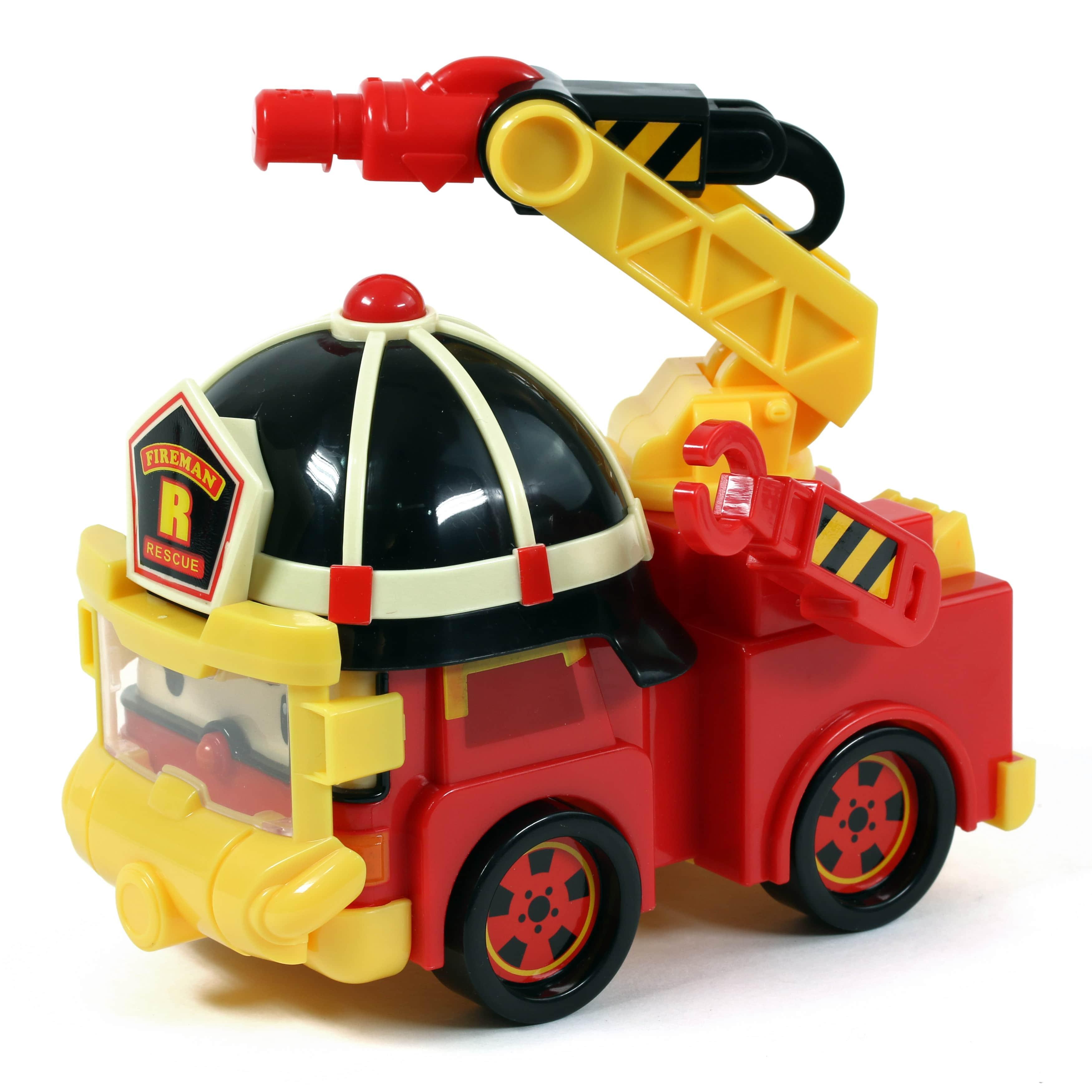 Купить Машинка – Рой, с аксессуарами. Робокар Поли, Silverlit