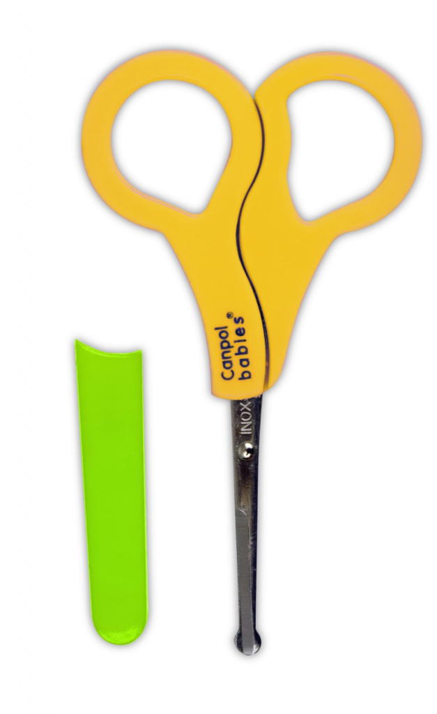 Ножницы безопасные в чехле, желтыйпредметы гигиены<br>Ножницы безопасные в чехле, желтый<br>