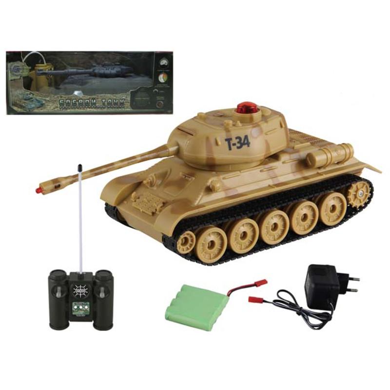 Танк Т-34 на радиоуправлении, свет и звукРадиоуправляемые танки<br>Танк Т-34 на радиоуправлении, свет и звук<br>