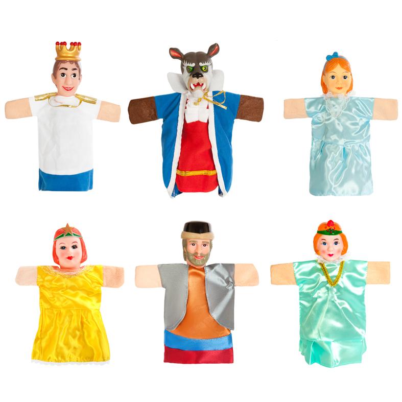 Кукольный театр – Аленький цветочек, 6 куколДетский кукольный театр <br>Кукольный театр – Аленький цветочек, 6 кукол<br>
