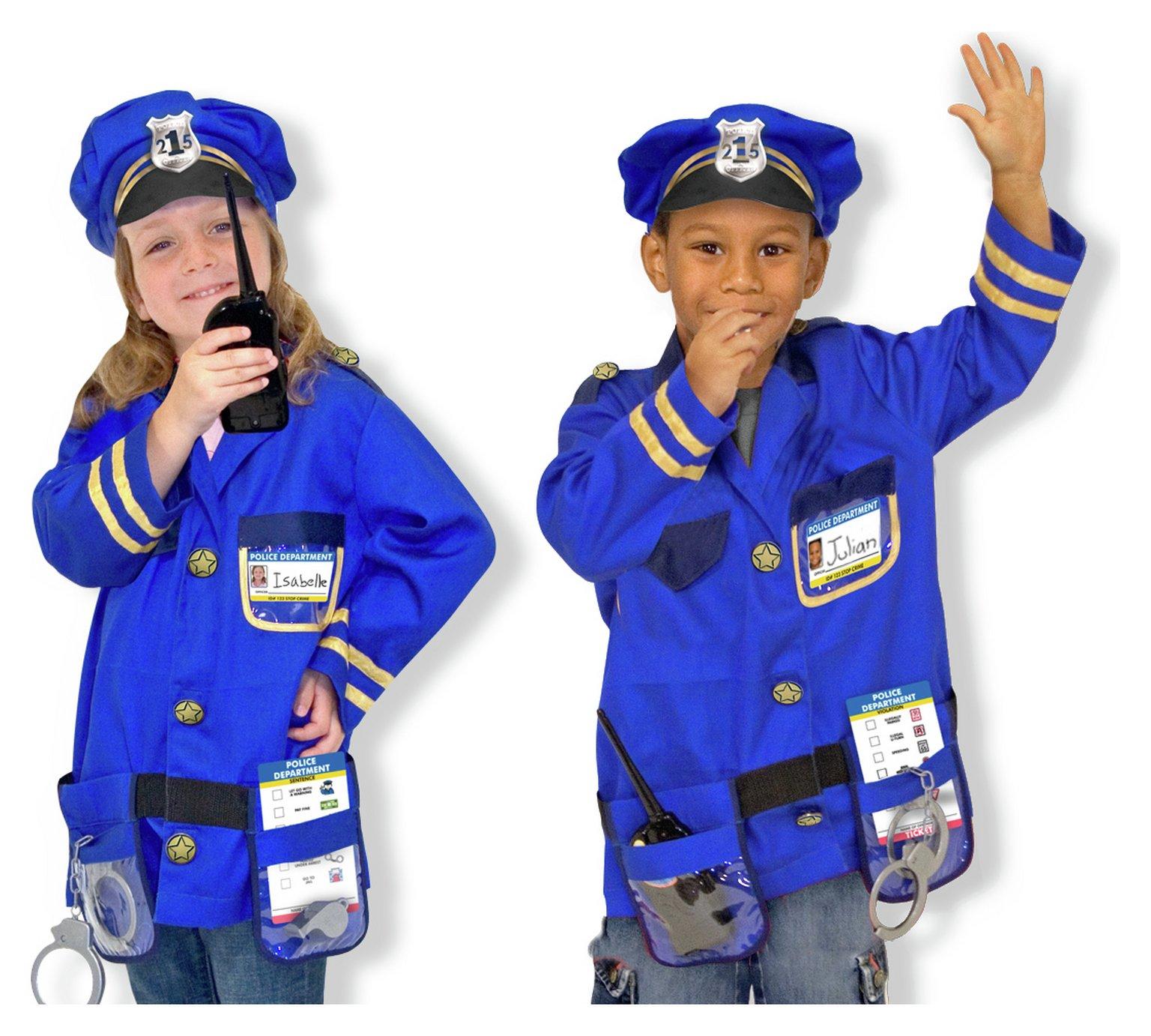 Маскарадный костюм «Полицейский» от Melissa & Doug, 4835 ... - photo#35