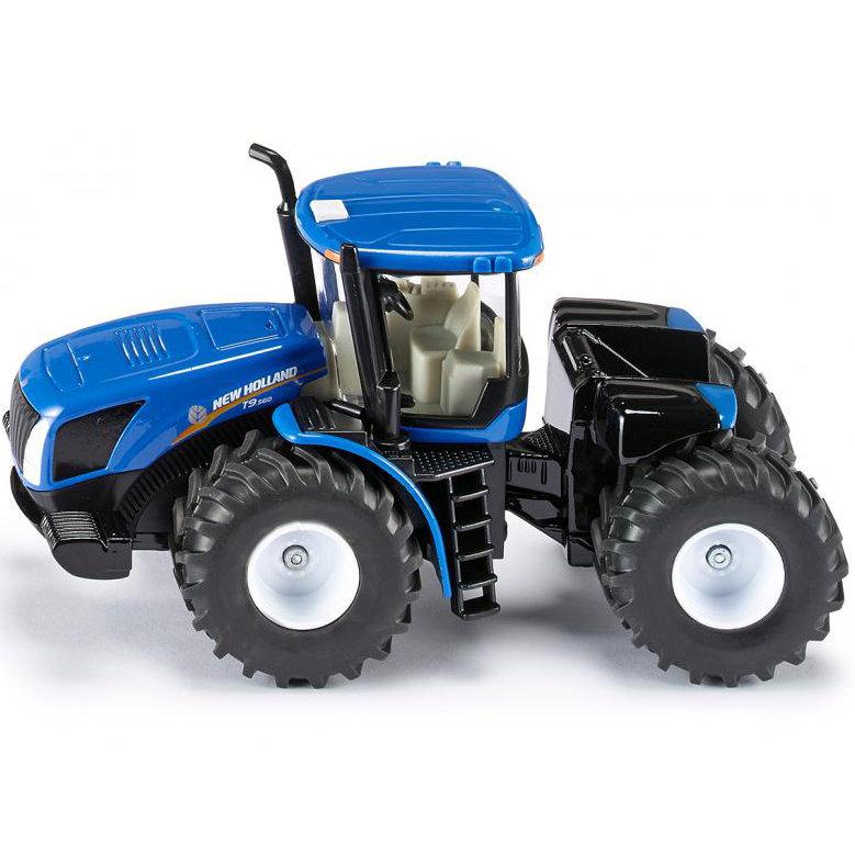Игровая модель Трактор синийИгрушечные тракторы<br>Игровая модель Трактор синий<br>