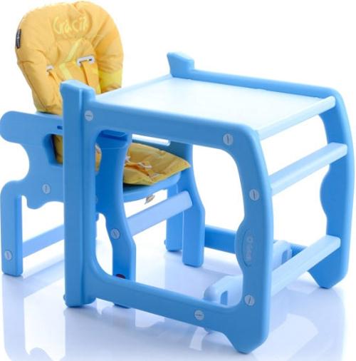 Купить Детский стульчик для кормления Jetem – Gracia, желтый