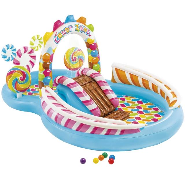 Купить Надувной игровой центр - Фабрика конфет, 295 х 191 х 130 см, Intex