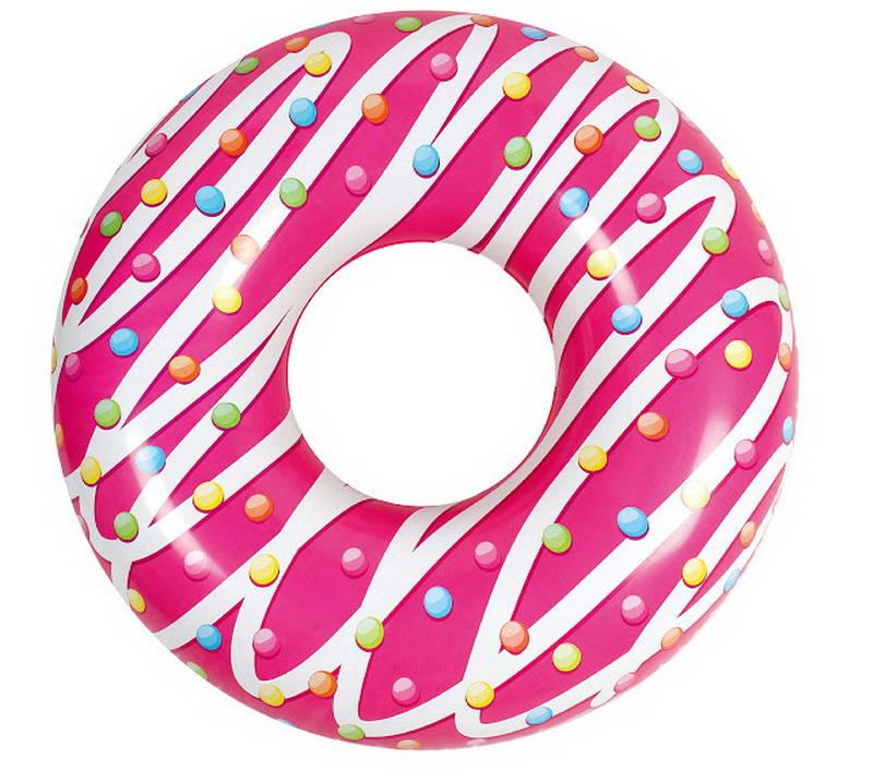 Круг надувной - Пончик