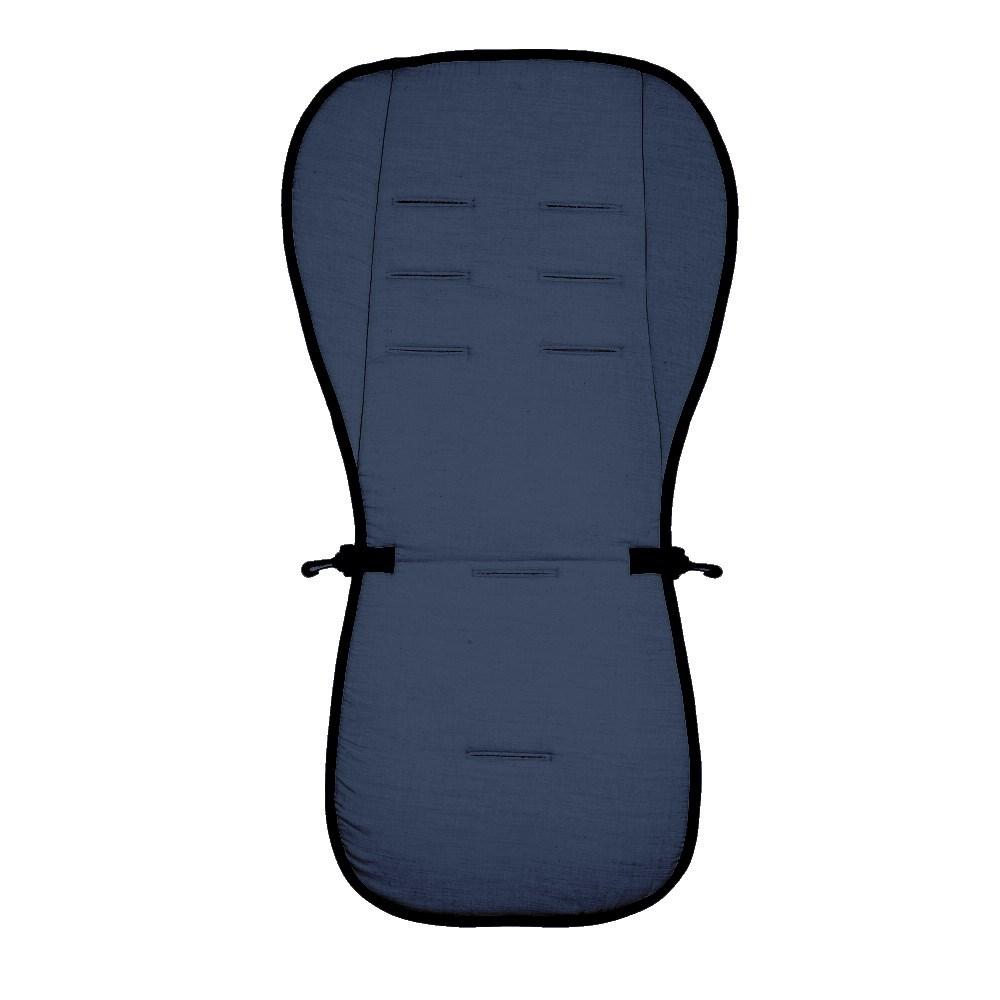 Матрасик вкладыш из ткани Lifeline Polyester с 3D Mesh, navy blueАксессуары к коляскам<br>Матрасик вкладыш из ткани Lifeline Polyester с 3D Mesh, navy blue<br>