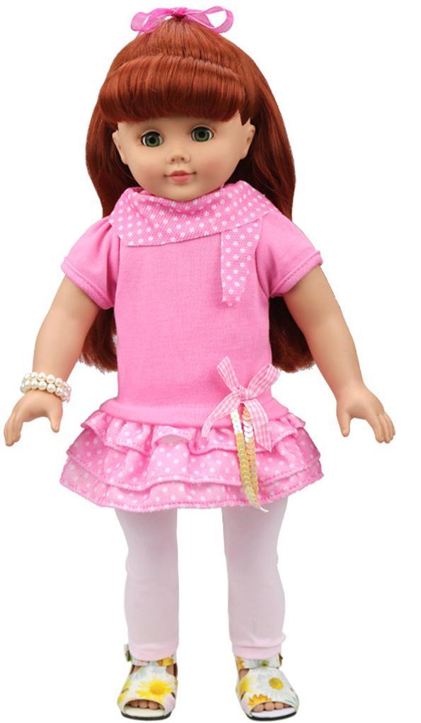 Купить Одежда для кукол - платье 2 вида, JUNFA TOYS