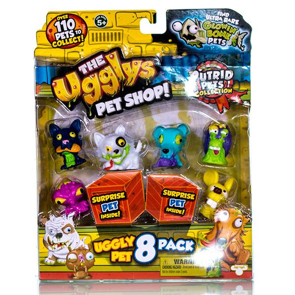 Набор фигурок Ugglys Pet Shop, 8 штукМУЛЬТ ГЕРОИ<br>Набор фигурок Ugglys Pet Shop, 8 штук<br>