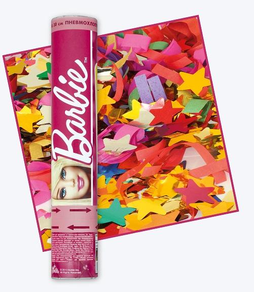 Хлопушка Barbie  30 смХлопушки<br>Хлопушка Barbie  30 см<br>