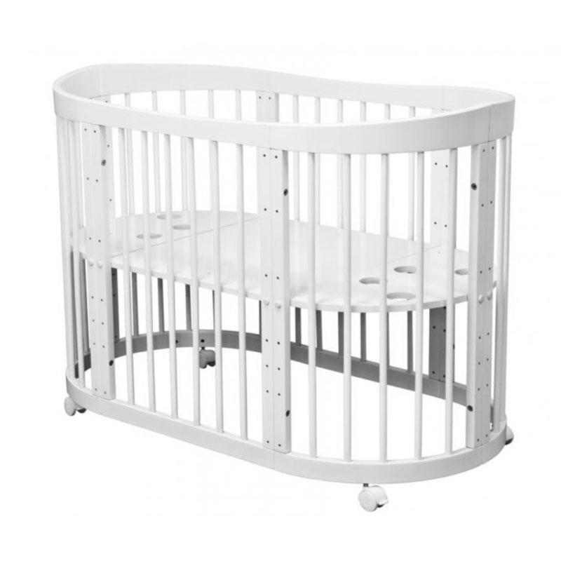 Купить Кровать детская Красная Звезда Паулина-2 С 422, белый, КРАСНАЯ ЗВЕЗДА