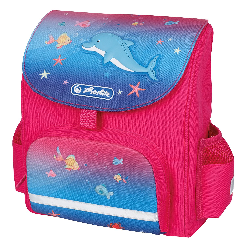 Ранец дошкольный Mini Softbag - Little Dolphin, без наполненияДетские рюкзаки<br>Ранец дошкольный Mini Softbag - Little Dolphin, без наполнения<br>