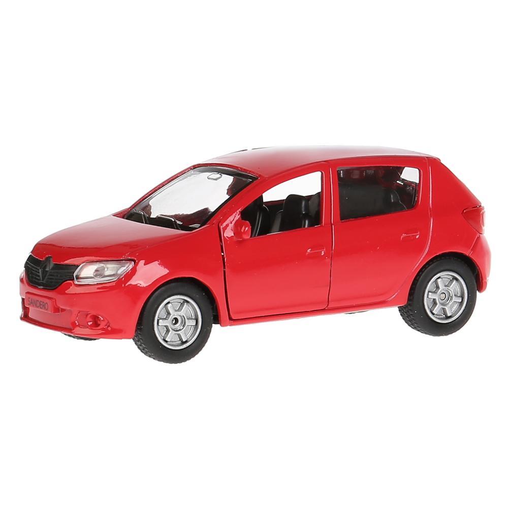 Купить Инерционная металлическая машина - Renault Sandero 12 см, открывающиеся двери, багажник -WB), Технопарк