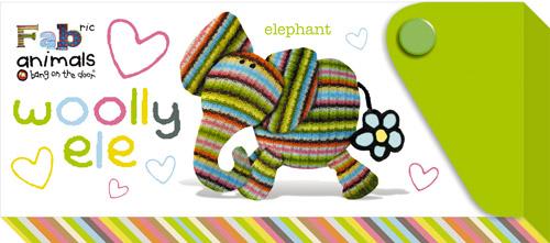 Пенал пластиковый с выдвижным отделением Fabric Animals Elephant от Toyway