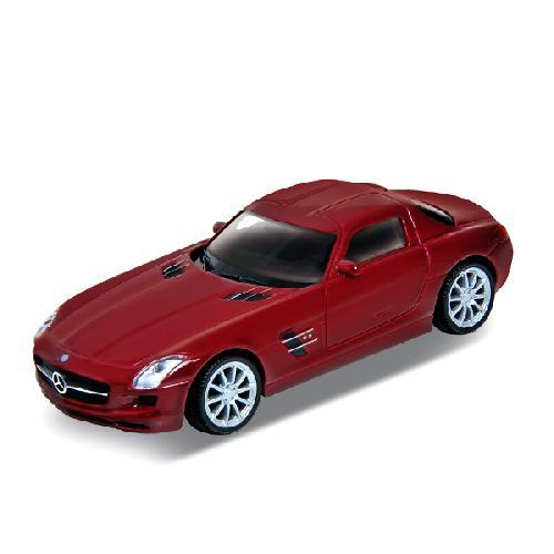 Купить со скидкой Машинка Mercedes-Benz SLS AMG, масштаб 1:34-39