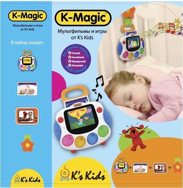 Интерактивная детская консоль для новорожденных K-MagicРазвивающие игрушки K-Magic от KS Kids<br>Интерактивная детская консоль для новорожденных K-Magic<br>