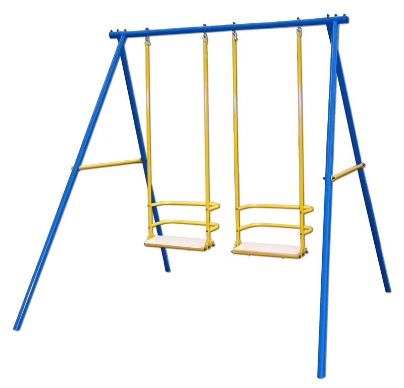 Уличный детский спортивный комплекс Kampfer Double Space - Качели, артикул: 161041