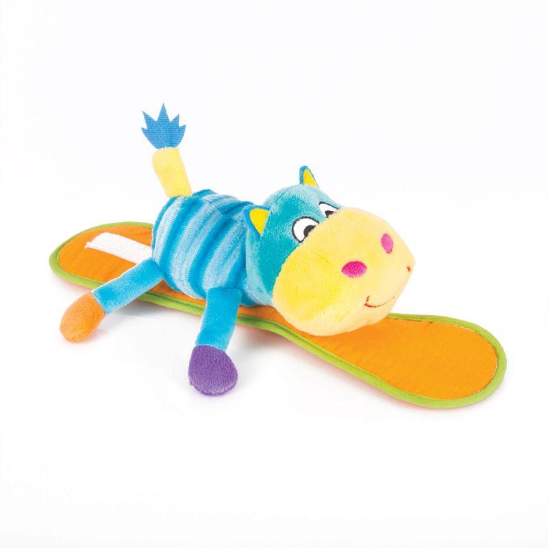Мягкая игрушка-крепитель Бегемот Бубба фото