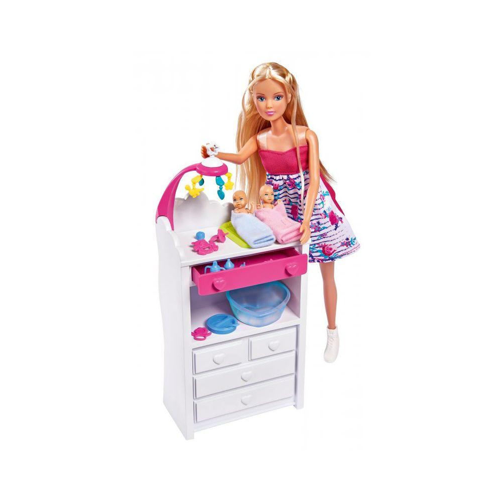 Купить Кукла Штеффи беременная из серии Двойняшки, с аксессуарами, 29 см., Simba